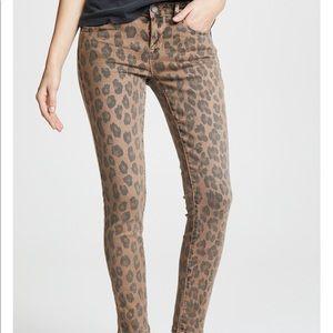 Blank NYC Leopard Print Skinny Jeans NWT